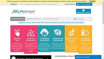 Site internet de My Angel