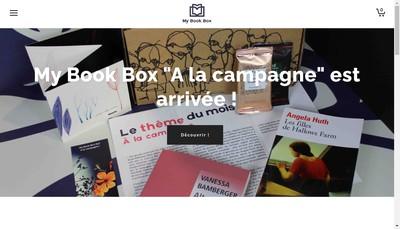 Site internet de My Book Box