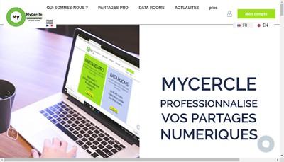 Site internet de Mycercle