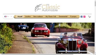 Site internet de My Classic Automobile