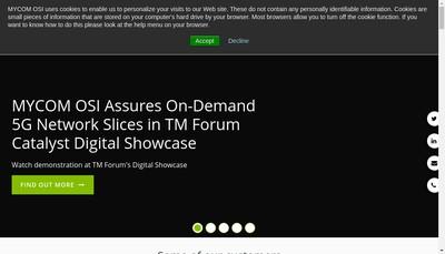 Site internet de Mycom France