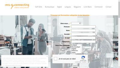 Site internet de Myconnecting