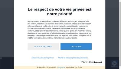 Site internet de Contact FM