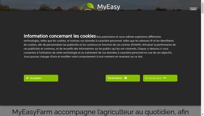 Site internet de My Easy Farm