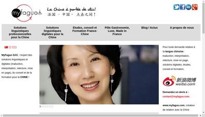 Site internet de Myfaguo