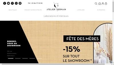Site internet de Atelier Germain Conseil
