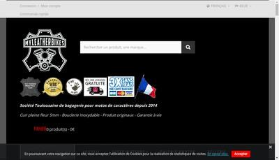 Site internet de Myleatherbikes