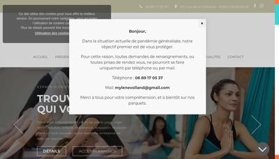 Site internet de Mylen'Academie