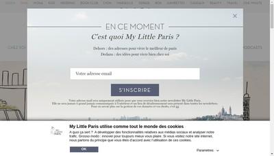 Site internet de My Little Paris