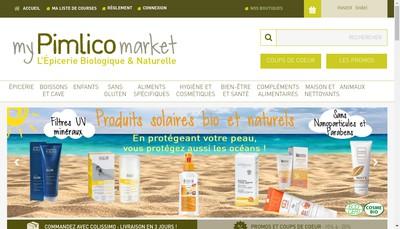 Site internet de Pimlico