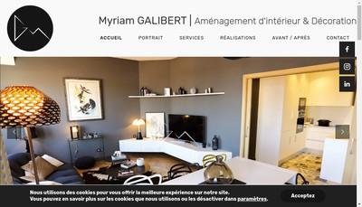Site internet de Myriam Buoniconti