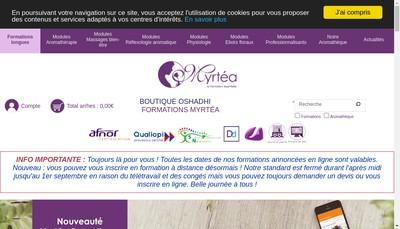Site internet de Myrtea