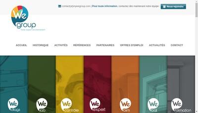 Site internet de Wegroup