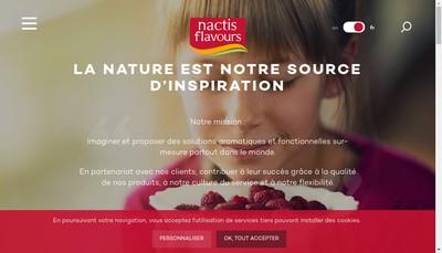 Site internet de Nactis