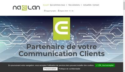 Site internet de Naelan Group