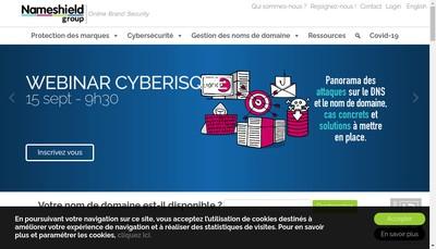 Site internet de L'Observatoire des Marques
