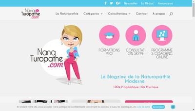 Site internet de Nana - Turopathe