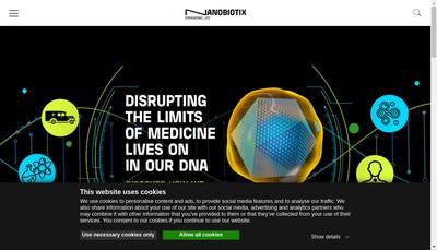 Site internet de Nanobiotix