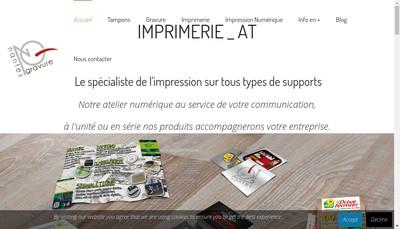 Site internet de Nantes Gravure