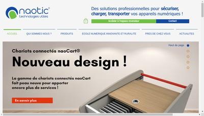 Site internet de Naotic