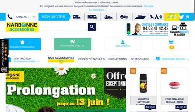 Site internet de Groupe Narbonne