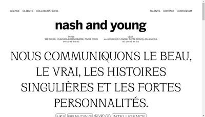 Site internet de Nash & Young