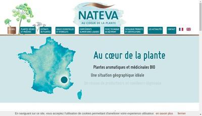 Site internet de Nateva