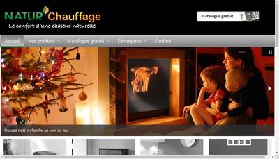 Site internet de Natur'Chauffage