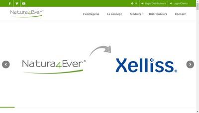 Site internet de Natura4Ever