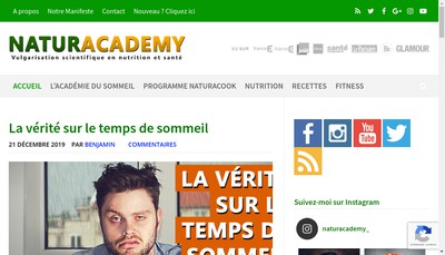 Site internet de Naturacoach