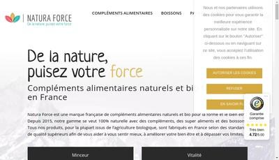 Site internet de Natura Force