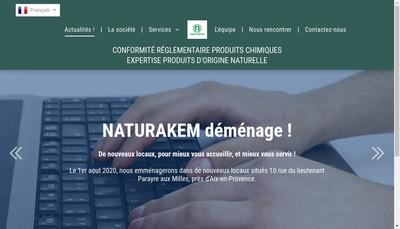 Site internet de Naturakem