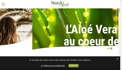 Site internet de Naturaloe