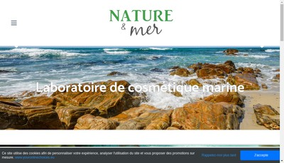 Site internet de Nature et Mer