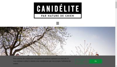 Site internet de Canidelite