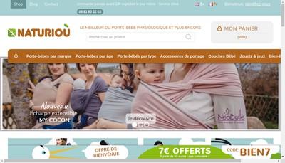 Site internet de Naturiou