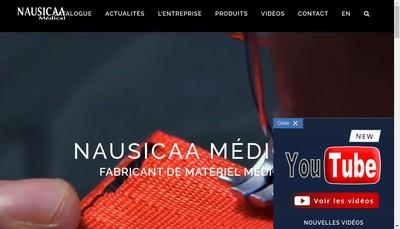 Site internet de Nausicaa Medical