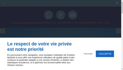 Site internet de Nautic Evasion