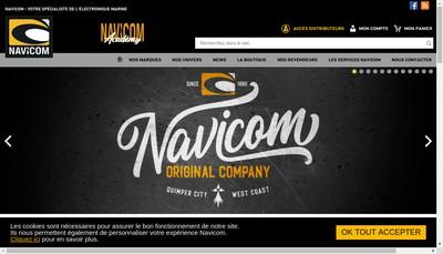 Site internet de Navicom