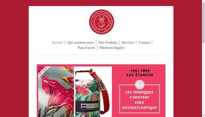 Site internet de SARL Navigatlantique