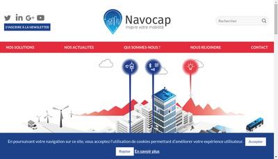 Site internet de Navocap