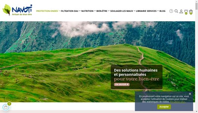 Site internet de Navoti