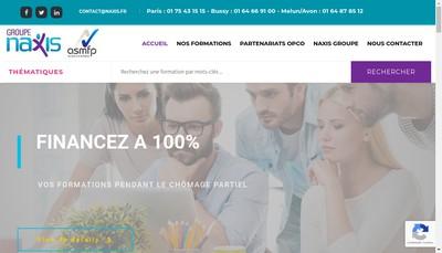 Site internet de Naxis