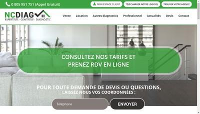 Site internet de Ncdiag