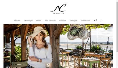 Site internet de Nc Joaillier