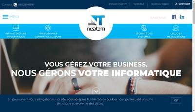 Site internet de Neatem
