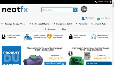 Site internet de Neatfx