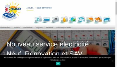 Site internet de Entreprise Neault