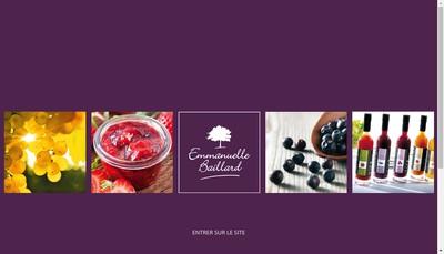 Site internet de Nectars de Bourgogne
