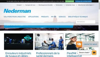 Site internet de Nederman SAS